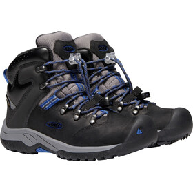 Keen Torino II WP Mid Shoes Barn black/baleine blue